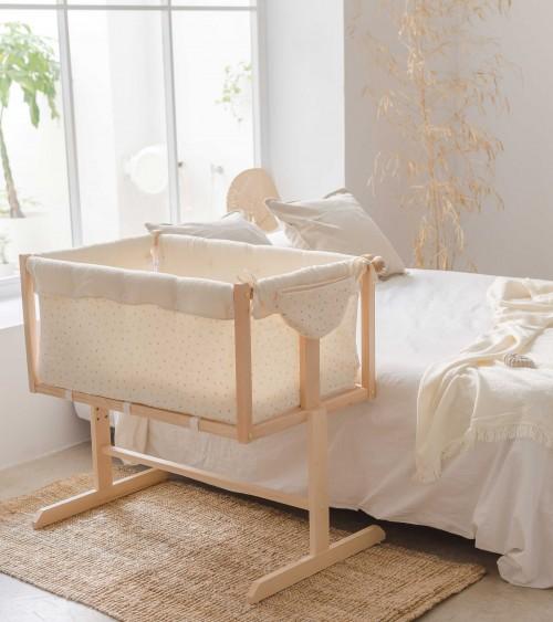 Baby side bed Olive