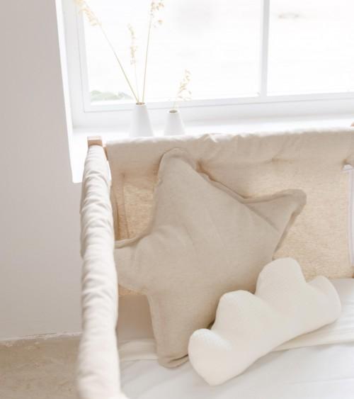 Star cushion linen